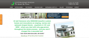 Slopping house block designers